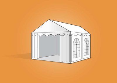 tent 3x4m