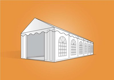 tent 5x12m