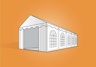 tent 4x10m