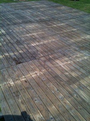 Plankenvloer tweedehands 2x1m