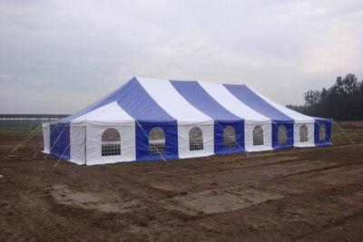 Pole tent 5x10m
