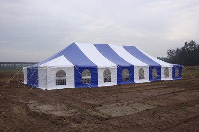 Pole tent 9x18m