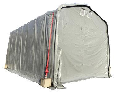 3,7x10,5m PVC 550g/m²   3,80m