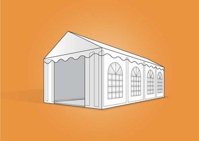 tent 4x8m