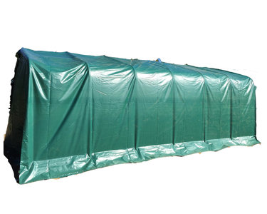 Carport 3,30 x 9,60m PVC